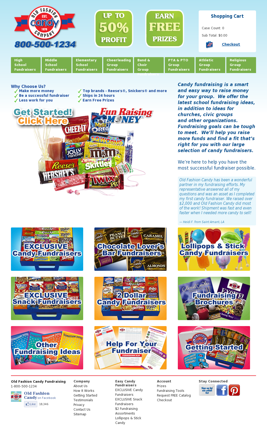 Easy Candy Fundraising : Candy ships in 24 Hours! Old fashion candy fundraiser