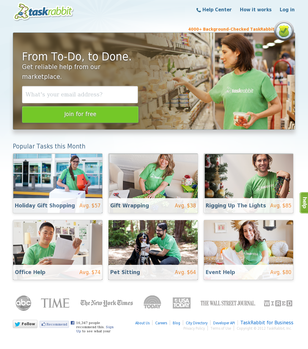 TaskRabbit Competitors, Revenue and Employees - Owler Company Profile