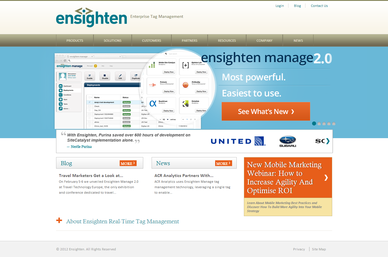 Ensighten Competitors, Revenue and Employees - Owler Company