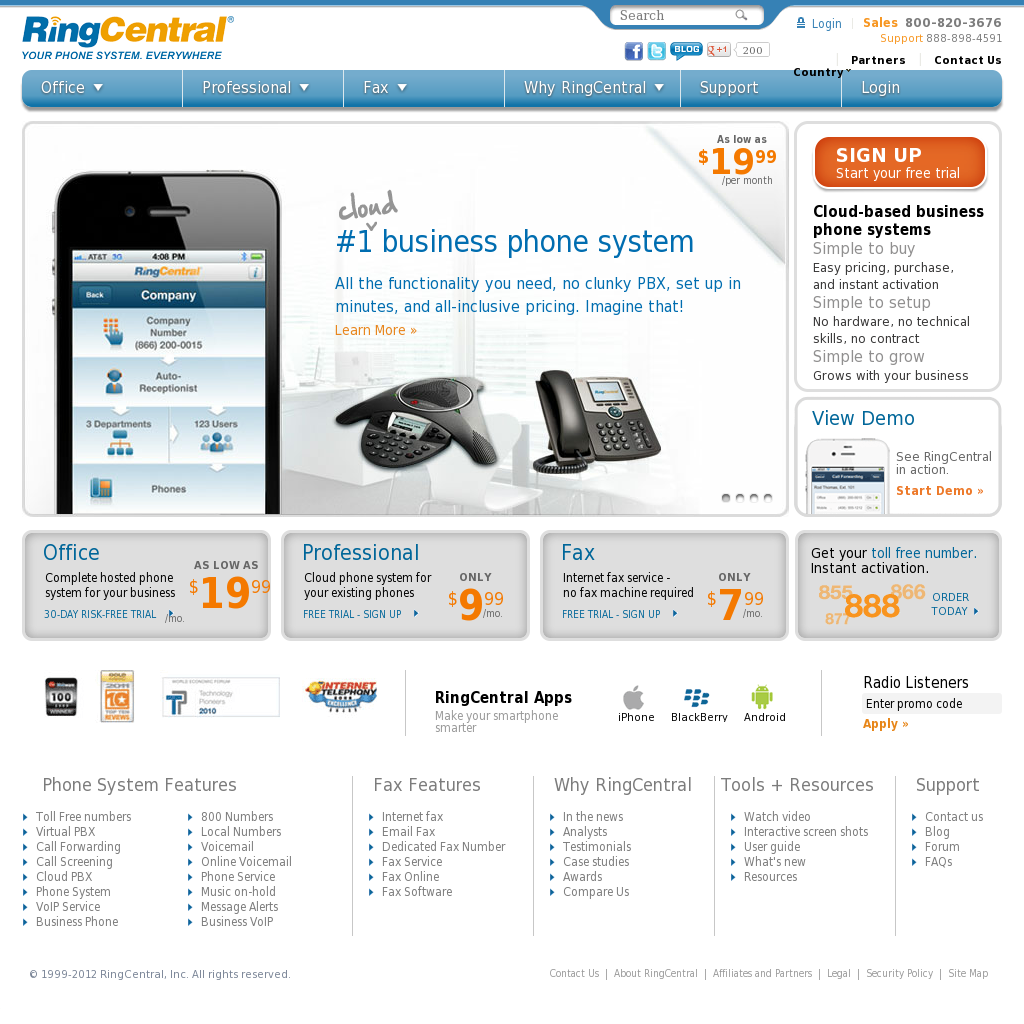 RingCentral Competitors, Revenue and Employees - Owler