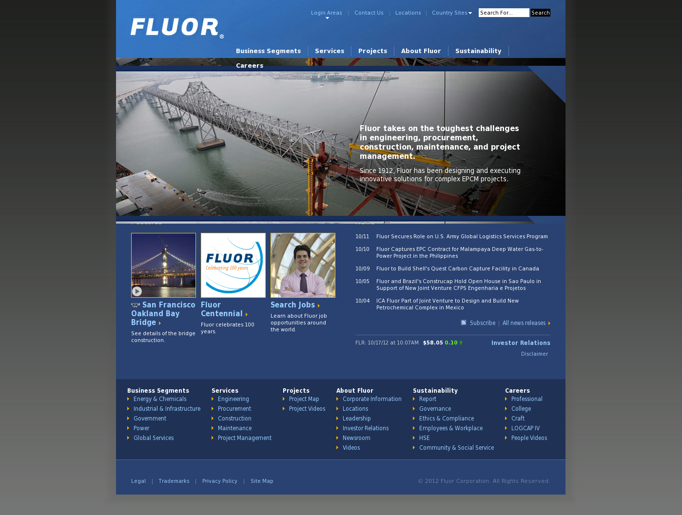 Fluor Competitors, Revenue and Employees - Owler Company Profile