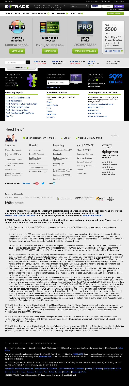 E*TRADE Competitors, Revenue and Employees - Owler Company Profile
