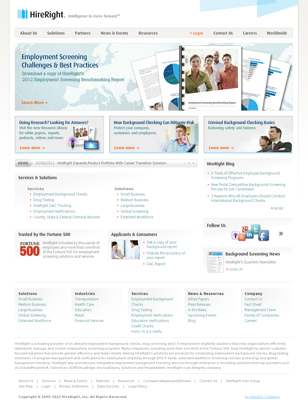 HireRight's Latest News, Blogs, Press Releases & Videos