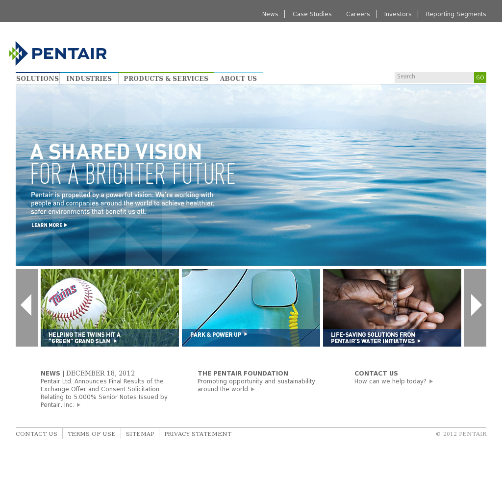 Pentair Competitors, Revenue and Employees - Owler Company