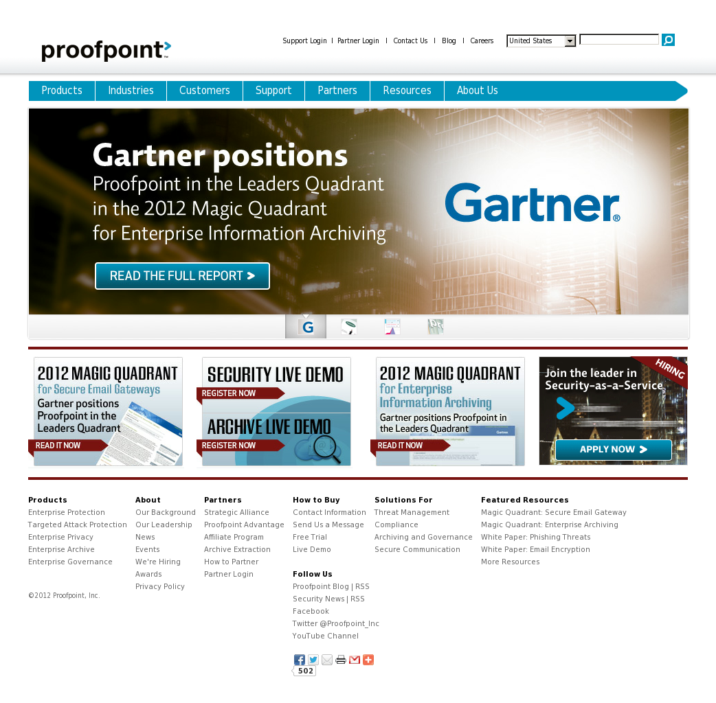 Proofpoint Competitors, Revenue and Employees - Owler
