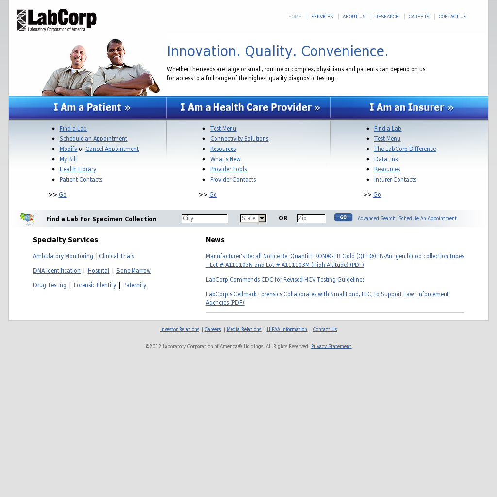 LabCorp Competitors, Revenue and Employees - Owler Company Profile