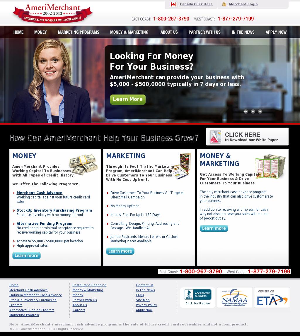 Amerimerchant Online Loan Reviews