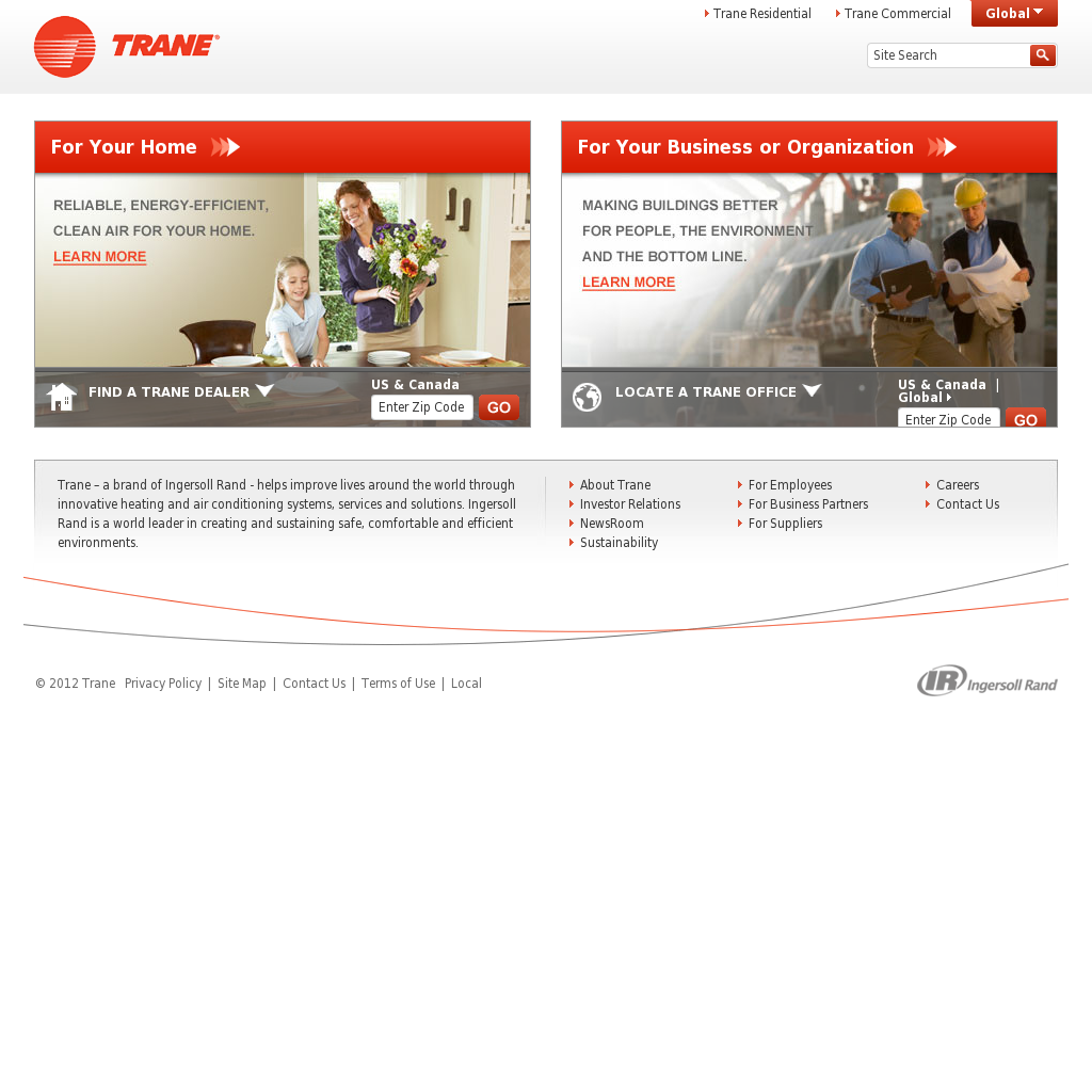 Trane Competitors, Revenue and Employees - Owler Company Profile