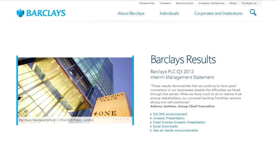 Barclays Competitors, Revenue and Employees - Owler Company Profile