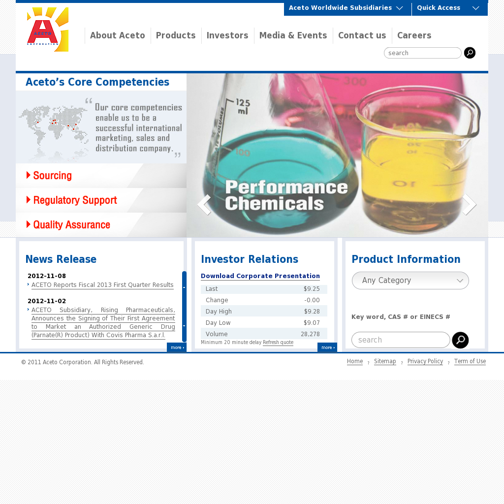 Aceto Competitors, Revenue and Employees - Owler Company Profile