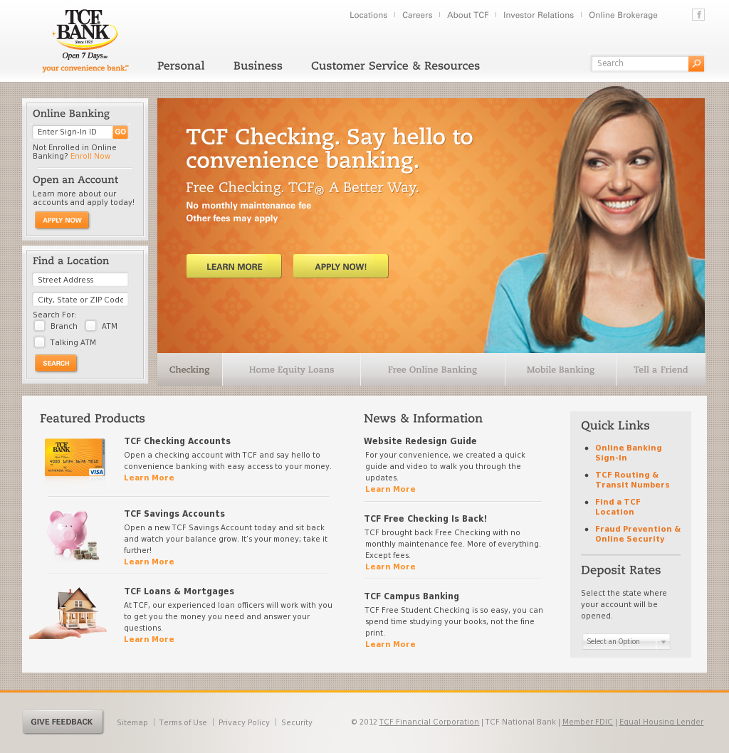 Tcf online dating