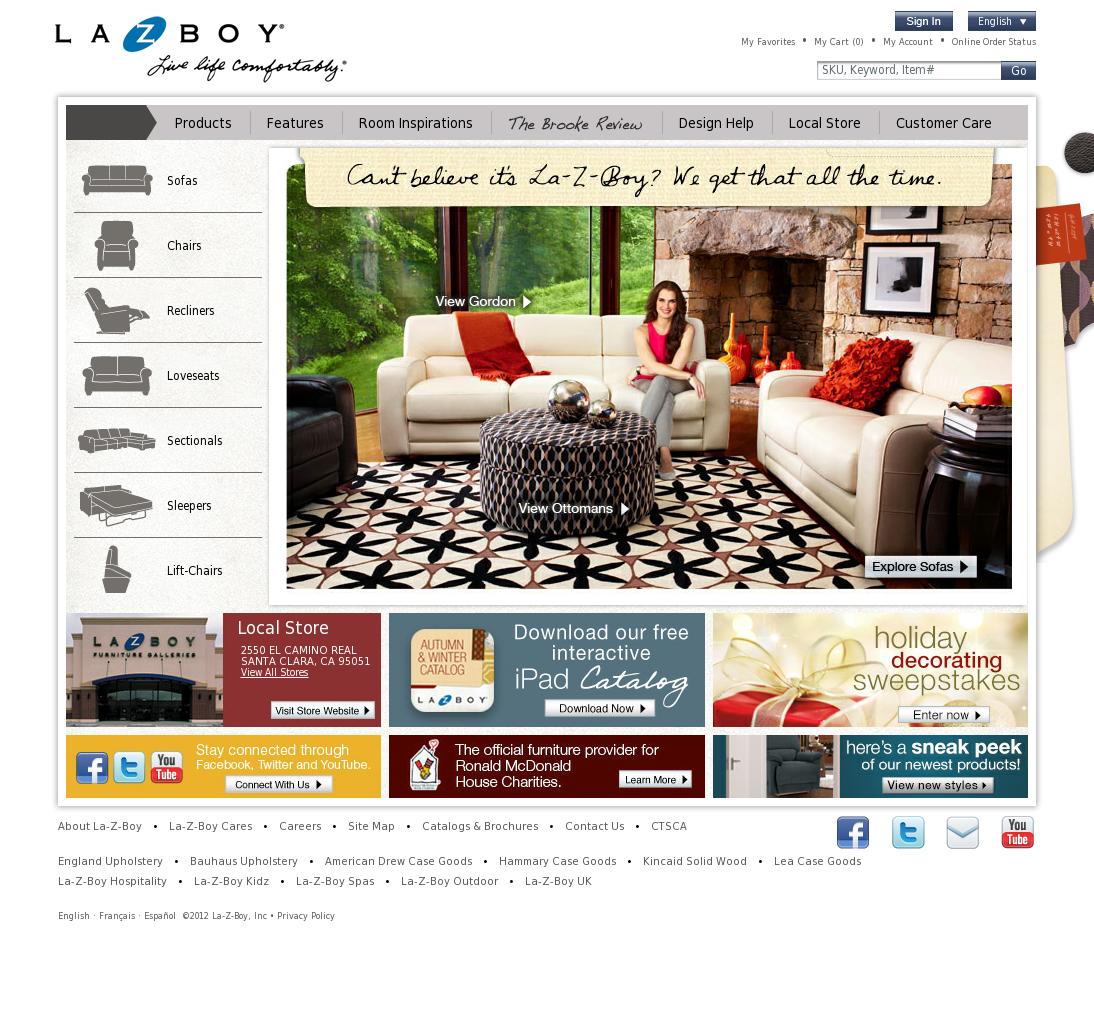 La z boy competitors revenue and employees owler company profile publicscrutiny Choice Image