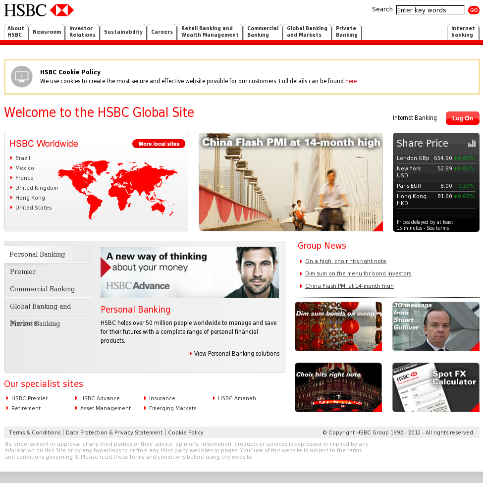 HSBC Competitors, Revenue and Employees - Owler Company Profile