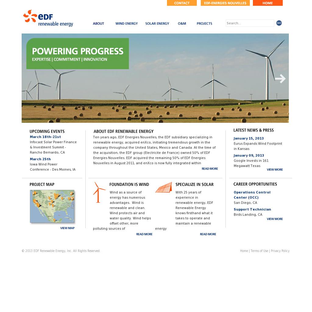 EDF Renewable Energy Competitors, Revenue and Employees - Owler ...