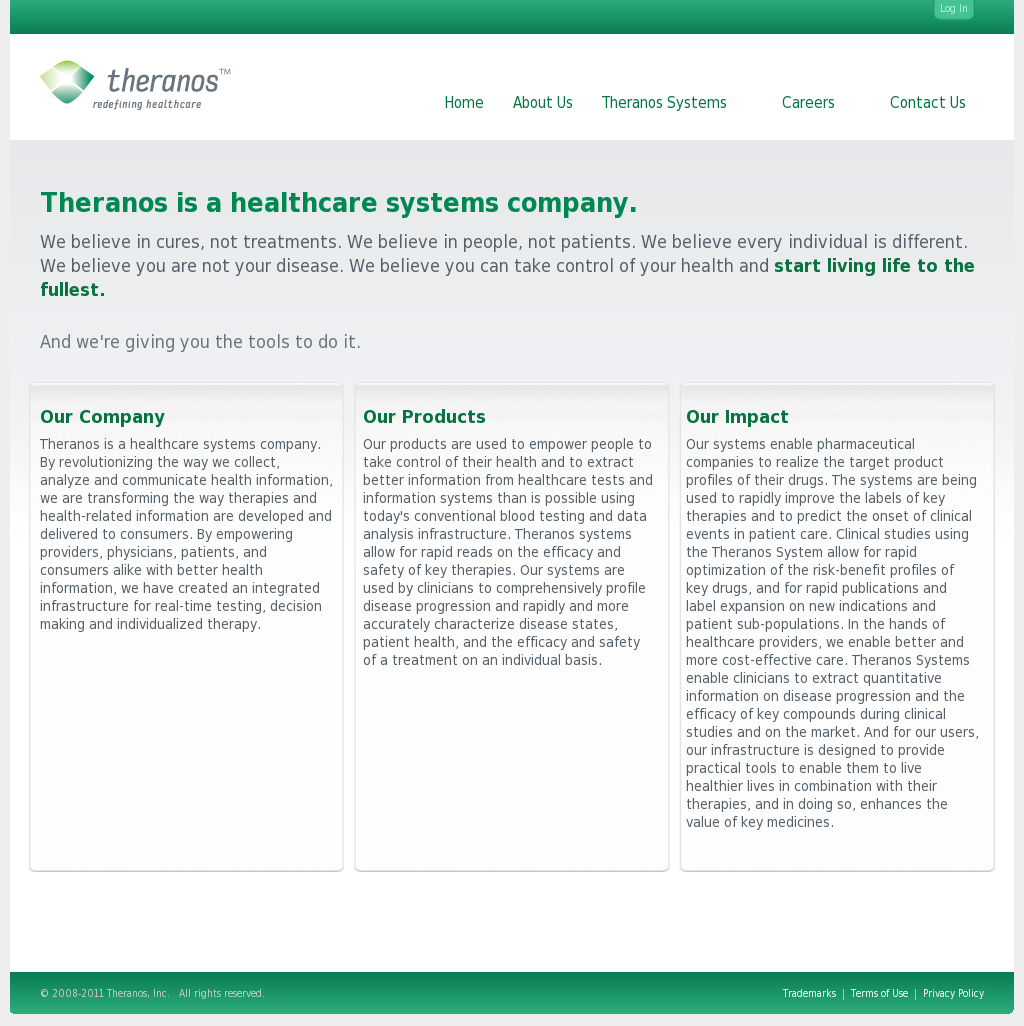 Theranos Competitors, Revenue and Employees - Owler Company